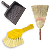 Brooms, Brushes and Dust Pans