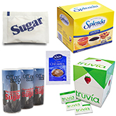 Sweeteners and Creamers