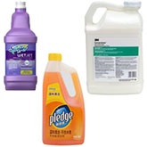 Floor Cleaners, Waxes and Finishes