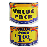 Family and Value Pack Labels