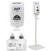 Hand Sanitizers and Dispensers