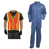 Coveralls, Suits, Coats and Vests