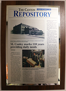 M. Conley marks 110 years providing daily needs