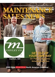 Maintenance Sales News Cover - M Conley Company