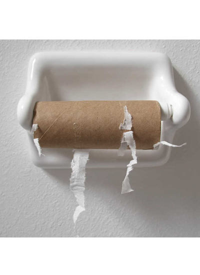 Wiped Out of Toilet Paper? Here's Why.