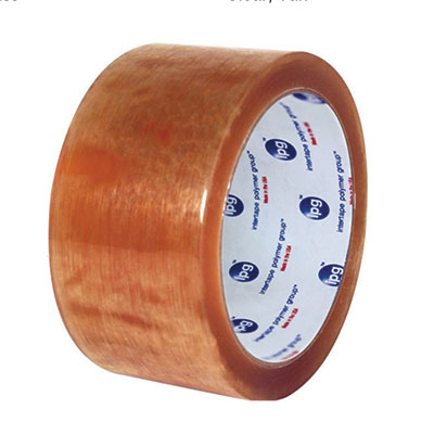 Central® 510 Premium Natural Rubber Case Sealing Tape - Clear, 48 mm x 914 m, 2.3 mil, 6/Case