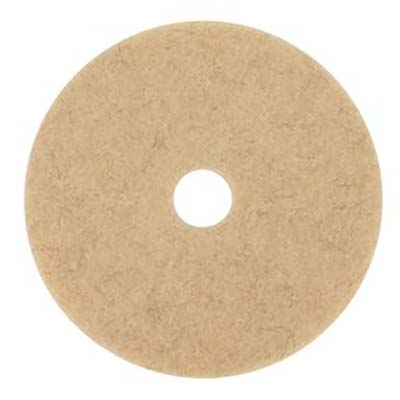 3M™ Natural Blend White Pad 3300, 20 in, 5 pads