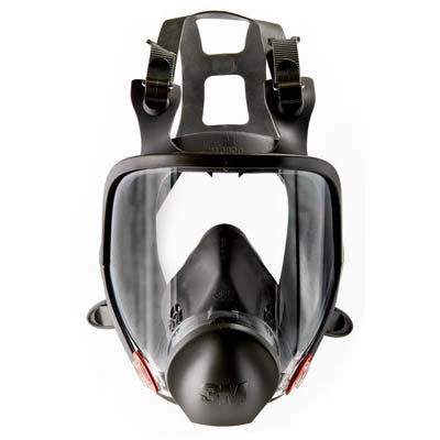 3m 6800 Full Face Respirator Medium 4/cs