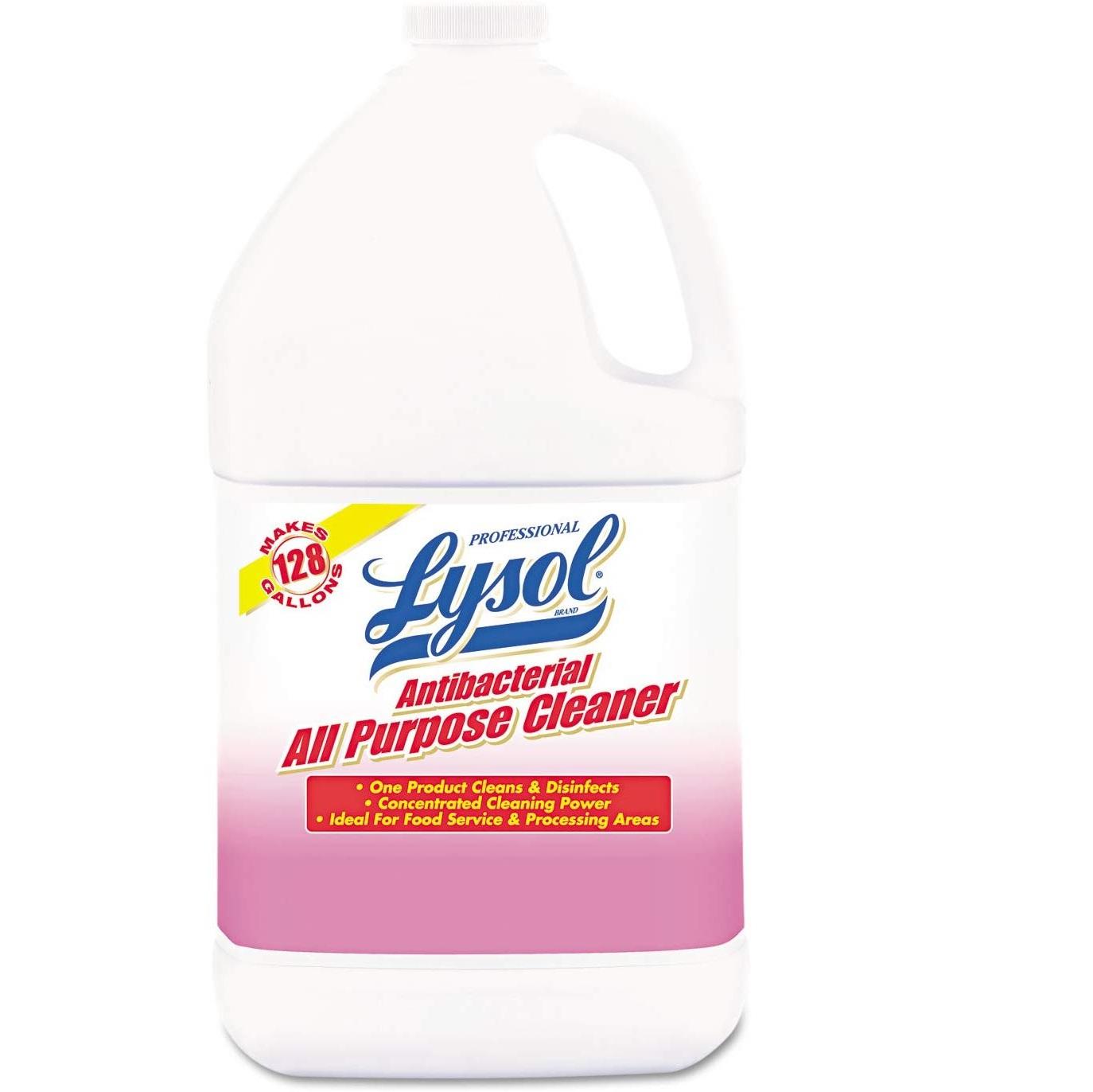 Lysol Antibacterial All-Purpose Cleaner - Cocncentrate, 1 gal Bottle, 4/Case
