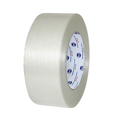 Intertape® RG286 BOPP Utility Filament Tape - 72 mm x 54.8 m, 4 mil, 100#, 16/Case