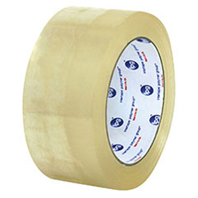 "Intertape® 6100 Utility Hot Melt Case Sealing Tape -2"" x 110yds, Clear, 1.6 mil, 36/Case"