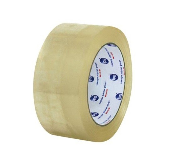 "Intertape®  Hand Length Medium Grade Carton Sealing Tape - 3"" x 110 Yards, 1.95 mil, Clear, 24/Case"