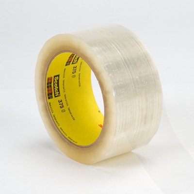 Scotch® 375 Box Sealing Tape, 3.1 mil