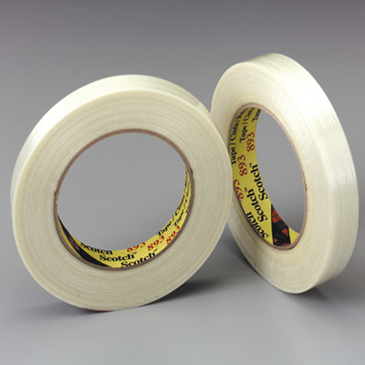 Scotch® 893 Filament Tape, Clear, 5.3 mil