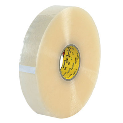 Scotch® 311+ Box Sealing Tape, Clear, 2.05 mil