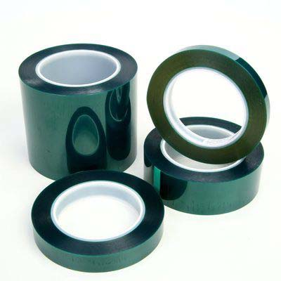 3M™ Polyester Tape 8992, Green, 2 in x 72 yd, 3.2 mil, 24 rolls