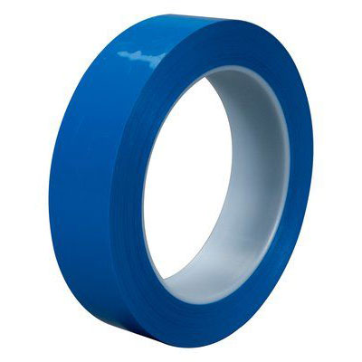 3M™ Polyethylene Tape 483, Blue, 1 in x 36 yd, 5.3 mil, 36 rolls