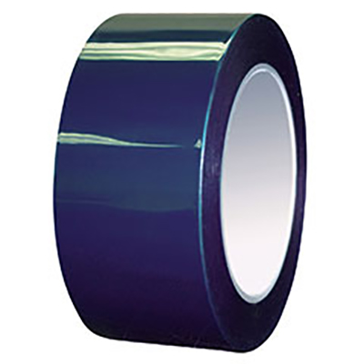 Intertape® 6120 Polyester High Temperature Masking Tape - Blue, 76 mm x 66 m, 3 mil, 12/Case