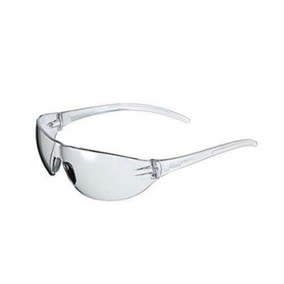 Wrap-Around Smoked Safety Glasses, 12 pairs