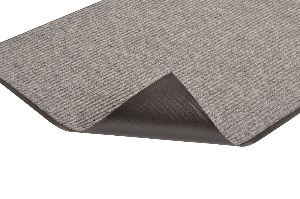 Heritage Rib™ Entrance Mat - Charcoal, 3' x 8', 3/8""