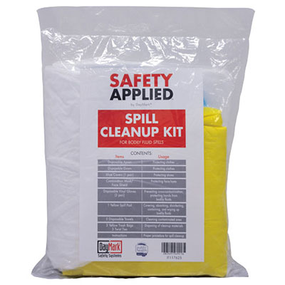 SafetyApplied™ Spill Cleanup Kit Refill