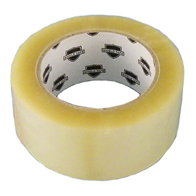 Shield Tape™ Hot Melt Case Sealing Tape - Clear, 48 mm x 100 m, 1.6 mil, 36/Case