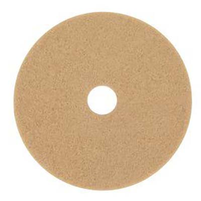 3M™ Tan Burnish Pad 3400, 27 in, 5 pads