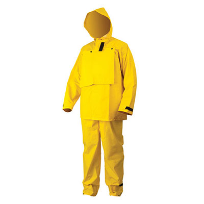 MCR Safety® 2603 Hydroblast™ 3-Piece Suit, Yellow, Extra-Large, 5 suits