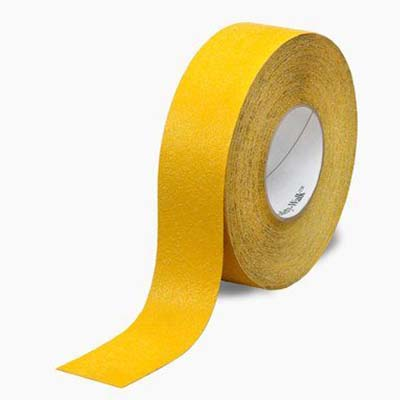 3M™ Safety-Walk™ Slip-Resistant General Purpose Tapes and Treads 630-B, Safety Yellow, 4 in x 60 ft, 1 Roll