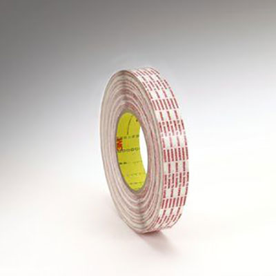 3M™ 476XL Double Coated Tape Extended Liner, Translucent, 12 mm x 330 m, 6 mil, 12 rolls