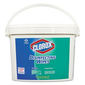 Clorox Disinfecting Wipes Bucket, Fresh Scent, 700 Wipes/Bucket