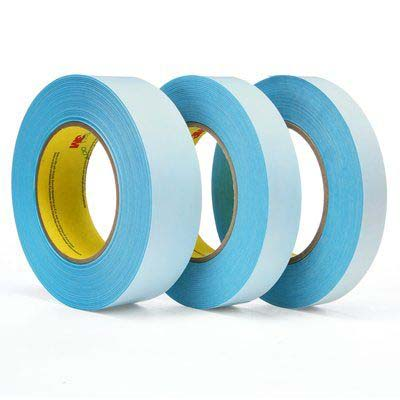 3M™ 9974B Repulpable Sheeter Tape, Blue, 48 mm x 55 m, 3 mil, 24 rolls