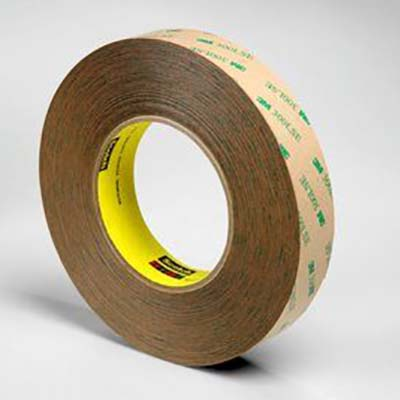 3M™ Adhesive Transfer Tape 9472LE, Clear, 5.2 mil, 1/2 in x 60 yd, 18 rolls