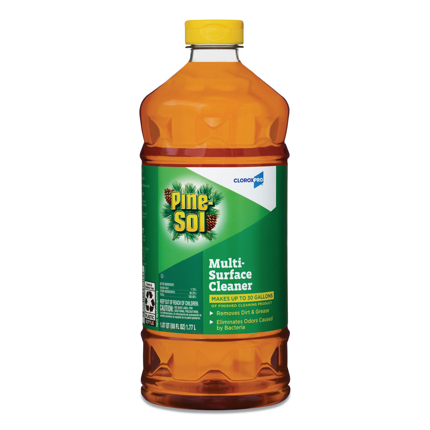 Pine-Sol Multi-Surface Cleaner Disinfectant - Pine, 60oz, 6/Case