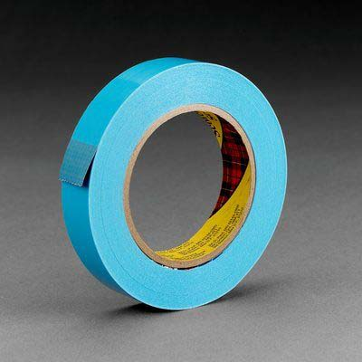 Scotch® 8898 Strapping Tape, Blue, 24 mm x 55 m, 4.6 mil, 36 rolls