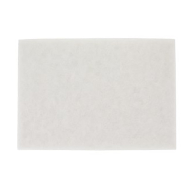 3M™ White Super Polish Pad 4100, 20 in x 14 in, 10 pads