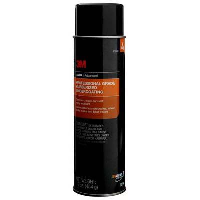 3M™ Professional Grade Rubberized Undercoating, 16 fl oz, 6 cans