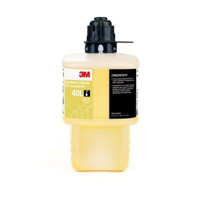 3M™ Disinfectant Cleaner RCT Concentrate 40L, Gray Cap - 2 Liter