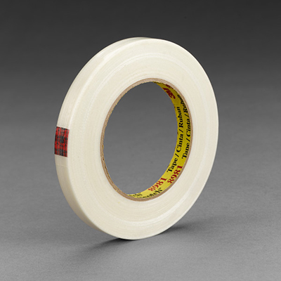 Scotch® 8981 Filament Tape, Clear, 48 mm x 55 m, 6.6 mil, 24 rolls