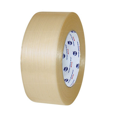 Intertape® RG3 Polyester Utility Filament Tape - 24 mm x 54.8 m, 4.9 mil, 36/Case