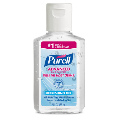 PURELL® Advanced Hand Sanitizer Gel - 2 fl oz Portable Flip Cap Bottle