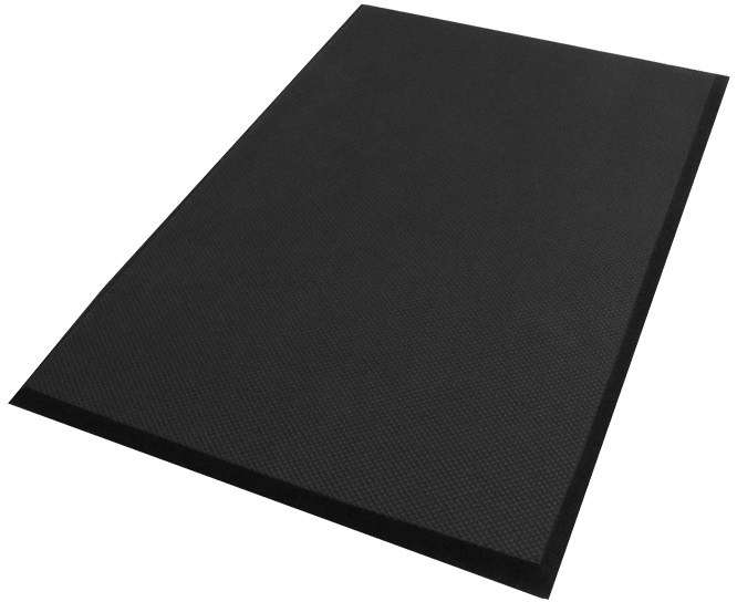 Complete Comfort™ Anti-Fatigue Mat - Black, 4' x 8', No Holes