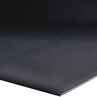 Sure Tread V-Groove Runner - Black, 3' x 105'