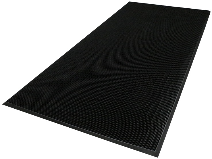 Flex Tip™ Mat - Black, 2.7' x 3.25', 5/8""