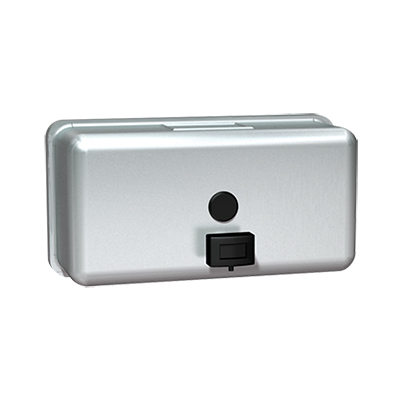 Horizontal Soap Dispenser - Stainless Steel