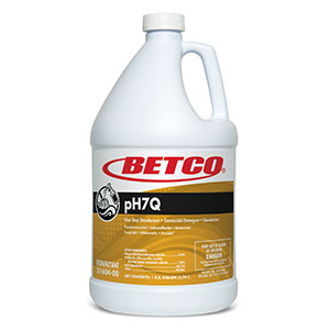 Betco pH7Q Disinfectant - 1 Gallon Bottle, 4/Case