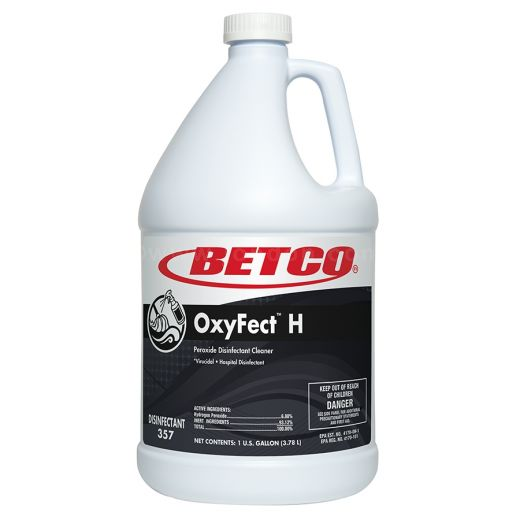 Betco OxyFect H Peroxide Disinfectant Cleaner - 1 Gallon, 4/Case