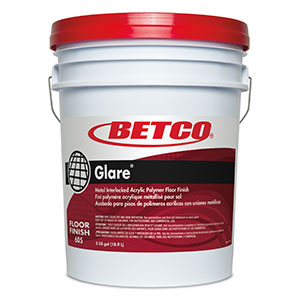 Betco Glare Acrylic Polymer Floor Finish - 5 Gallon Pail