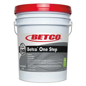 Betco One Step Floor Care - 5 Gallon Pail