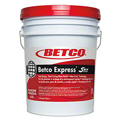 Betco Express Floor Finish w/SRT - 5 Gallon Pail